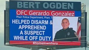 Officer Gerardo Gonzalez
