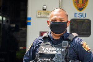 Officer Juan Guallpa